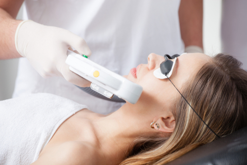 Choose cosmetic lasers for a wide range of skin treatments